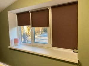 Рулонная штора на окно мини Эко