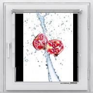 Рулонная штора с фотопечатью Фрукты - Гранат