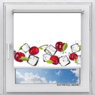 Рулонная штора с фотопечатью Фрукты - Вишня