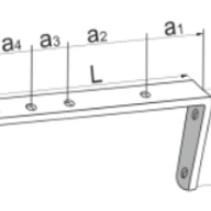 Кронштейн - Кронштейн схема