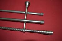 Карниз витой трехрядный Торино, диаметром 16 мм