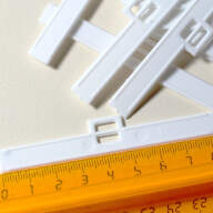 Держатель ламели вертикальных жалюзи, 89 мм - Держатель ламели вертикальных жалюзи, 89 мм