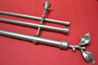 Карниз трехрядный Ветка, диаметром 25/16 мм