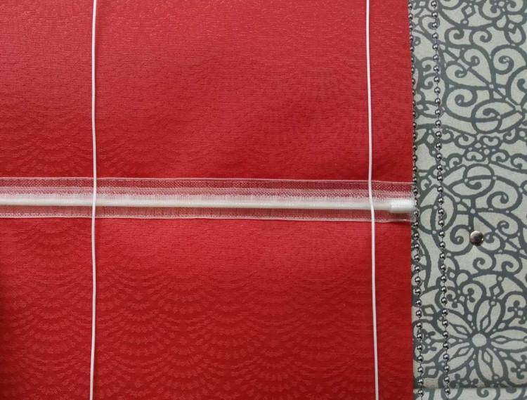 Шторная лента с петлями для римской шторы