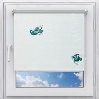 Рулонная штора на окно мини Лагуна