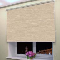 Большие рулонные шторы Балтик   - Большие рулонные шторы Балтик  29, светло коричневый