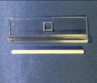 Держатель ламели вертикальных жалюзи составной, 89 мм